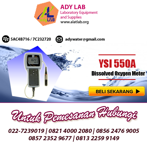 YSI 550A Dissolved Oxygen Meter